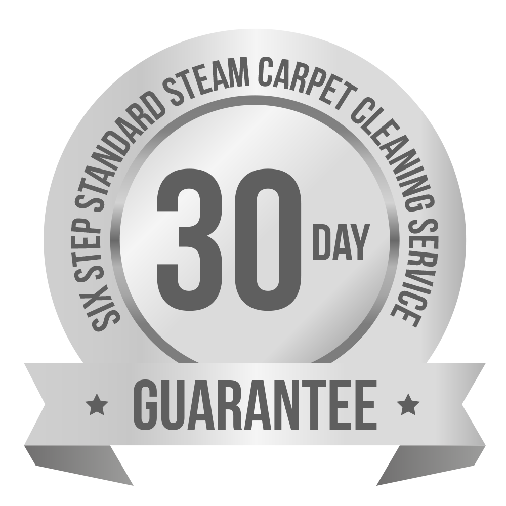 Six Step 30 day guarantee logo