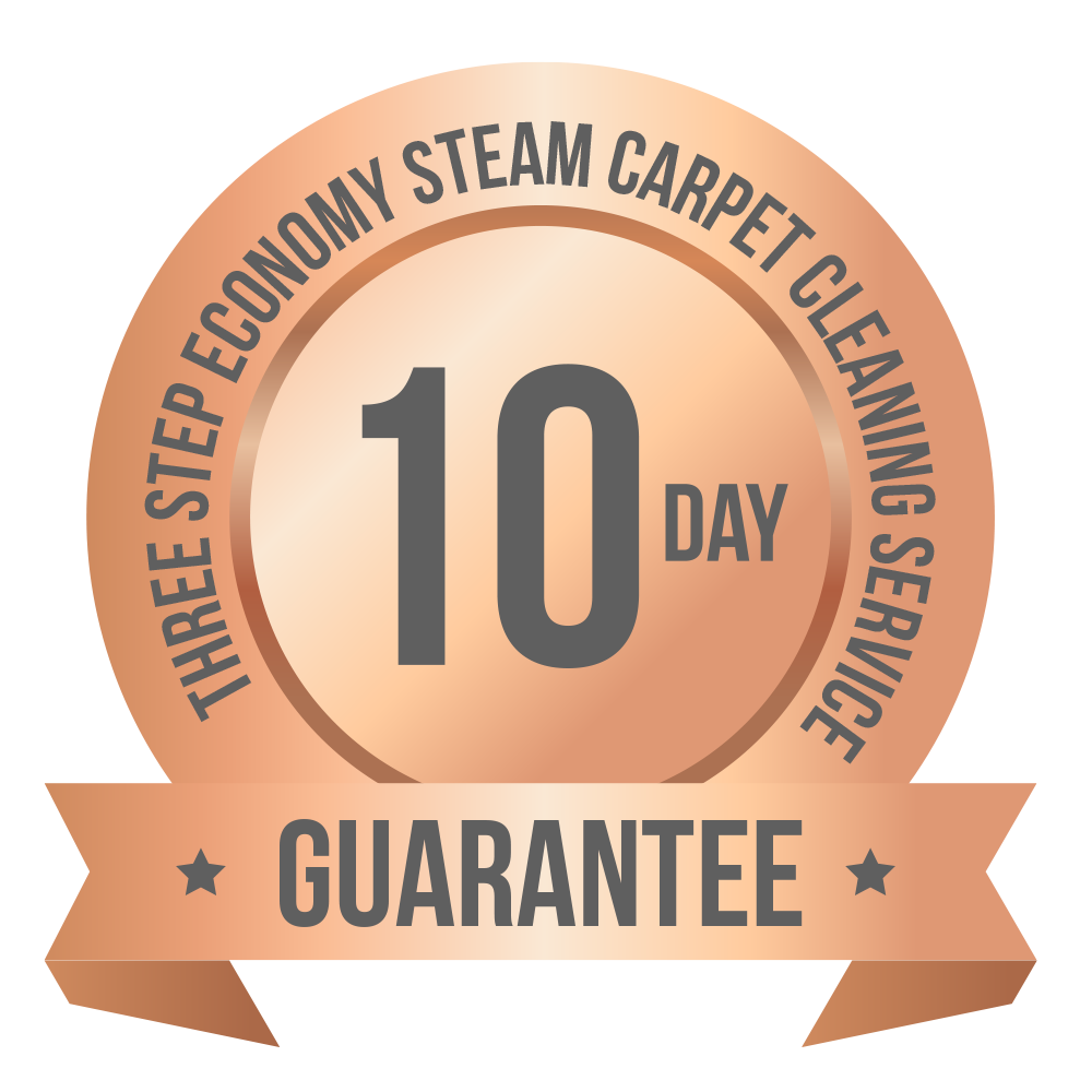 Three Step 30 day guarantee logo