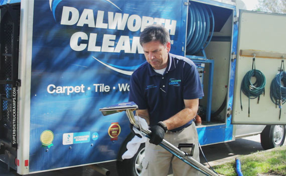 Dalworth Clean Truck with Restoration Cleaning Equipment