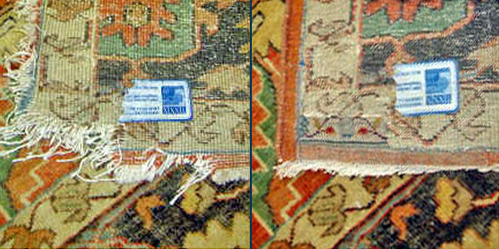 Area Rug Cleaning and Repair by Dalworth