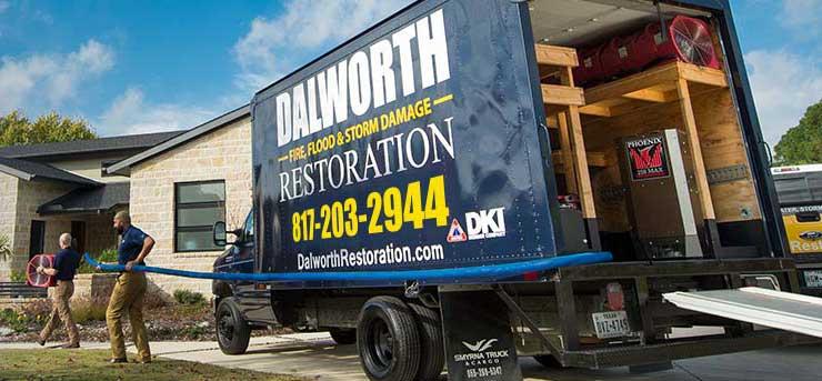 Dalworth Restoration Truck